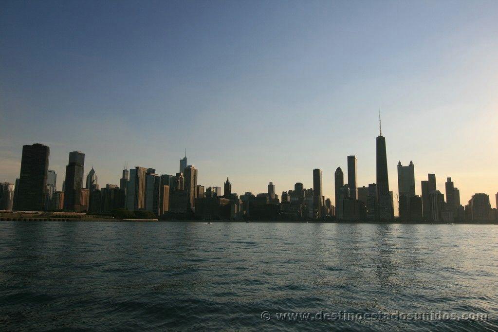 Vista de Chicago desde el barco