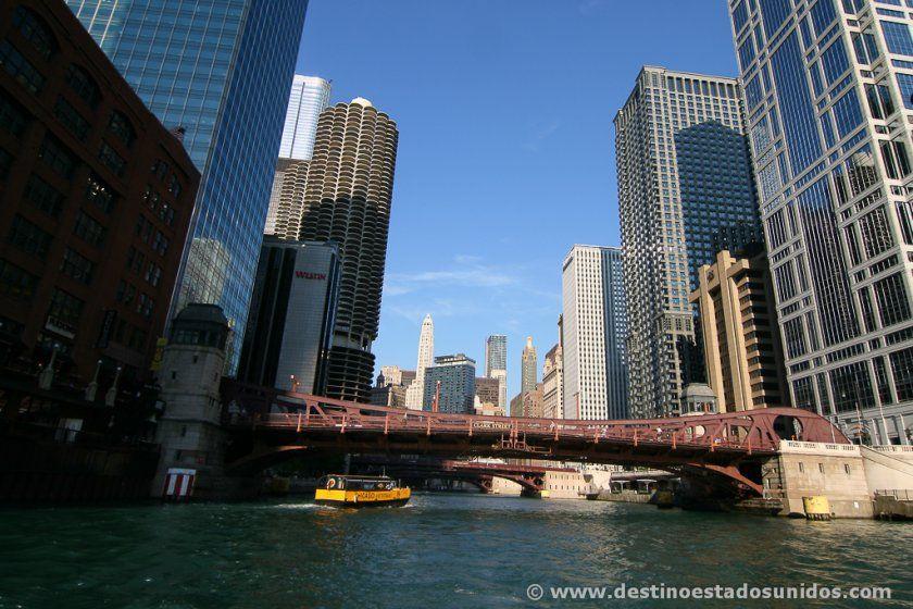 Paseo en barco por Chicago