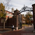 Johnston Gate, entrada a Harvard Yard desde Harvard Square