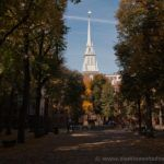 Old North Church y Paul Revere Mall