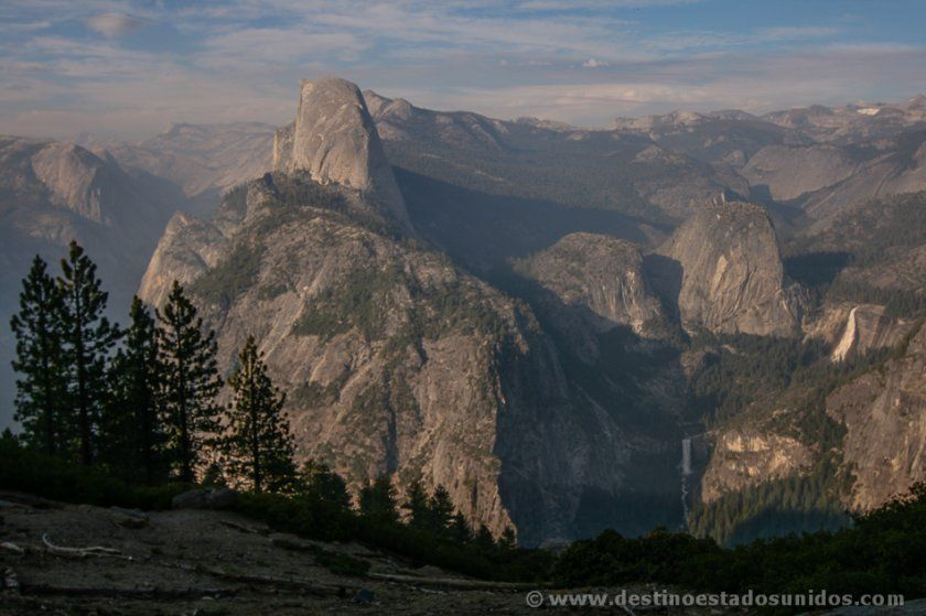 Vista de Yosemite desde Glacier Point