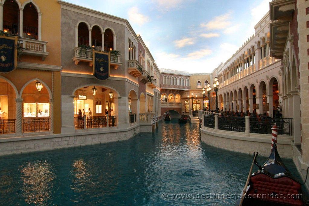 Los canales del Venetian
