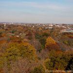 Vista de Cambridge desde Washington Tower, en el cementerio Mt. Auburn