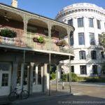Balcones en el distrito francés