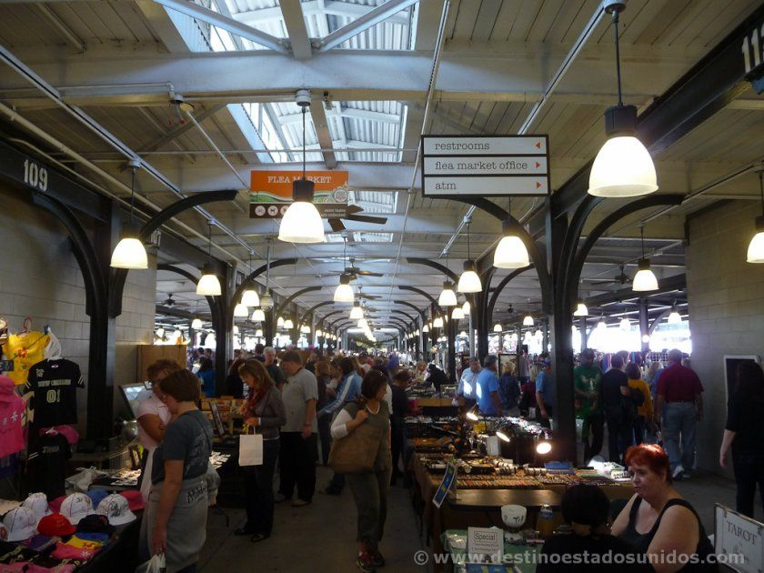 Interior del French Market