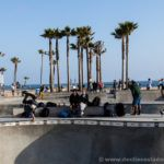 Skaters en Venice Beach