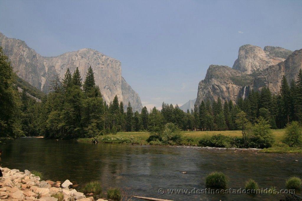 Entrada norte a Yosemite