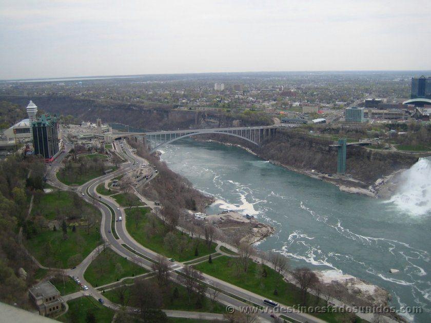 Canada Cataratas Del Niagara Mapa.Donde Estan Las Cataratas Del Niagara Destino Estados Unidos