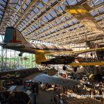 Interior del Museo Nacional del Aire y del Espacio