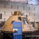 El Apollo 11, en el Museo Nacional del Aire y del Espacio