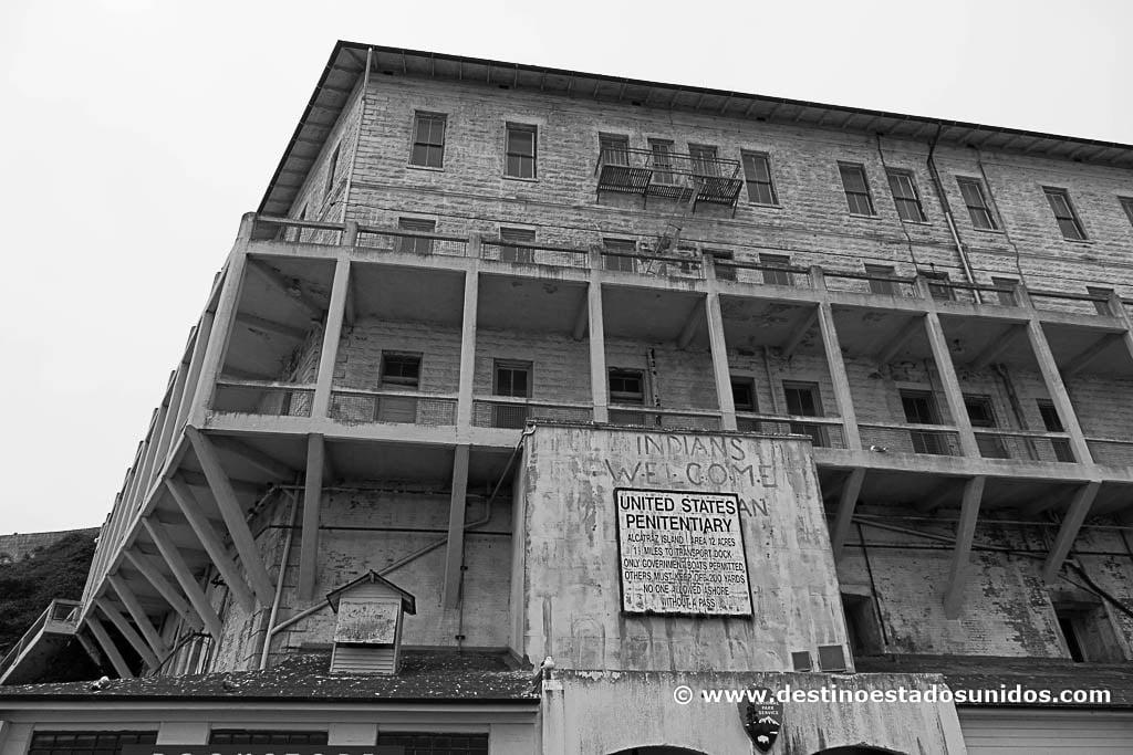 Llegada a Alcatraz