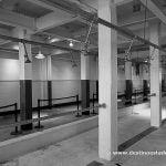 Zona de duchas de Alcatraz