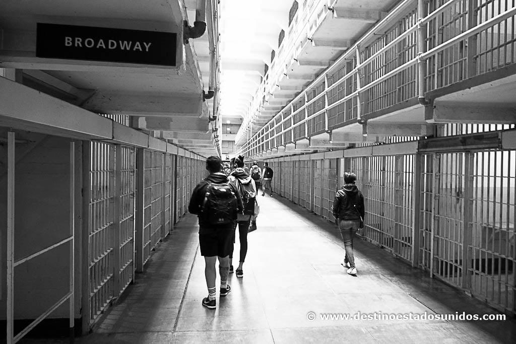 Broadway, en Alcatraz