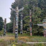 Los totems del parque Stanley