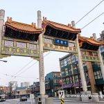 Entrada a Chinatown en Vancouver
