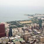 Vista de la isla de los museos desde la Torre Willis