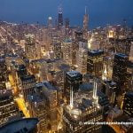 Downtown Chicago desde la Torre Willis